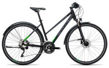 Trekkingbike Cube Cross Allroad black´n´flashgreen