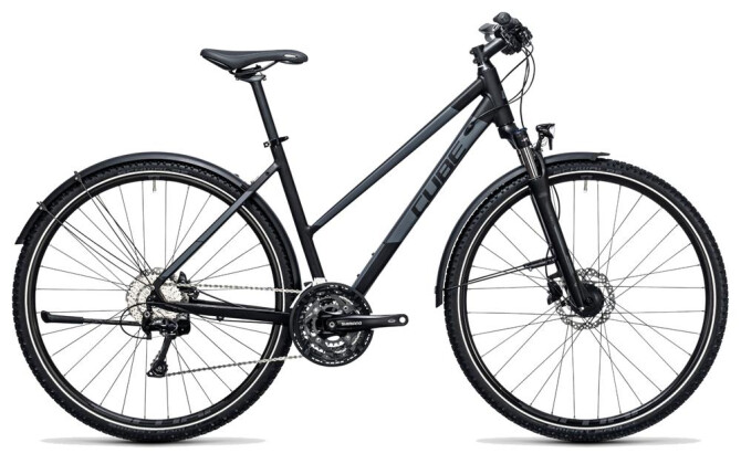 Trekkingbike Cube Nature Allroad black´n´grey 2017
