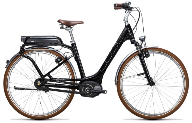E-Bike Cube Elly Cruise Hybrid 400 black´n´white 2017