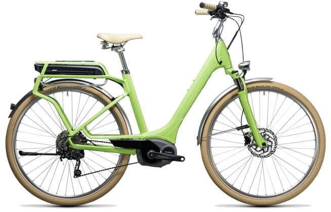 E-Bike Cube Elly Ride Hybrid 500 green´n´white 2017