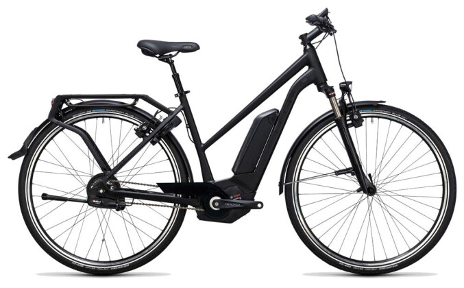 E-Bike Cube Delhi Hybrid Pro 500 black edition 2017