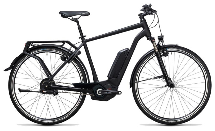 E-Bike Cube Delhi Hybrid Pro 500 black edition 2017