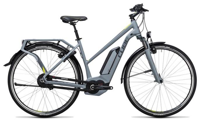 E-Bike Cube Delhi Hybrid 500 grey´n´lime 2017