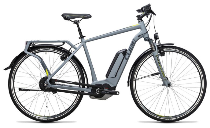 E-Bike Cube Delhi Hybrid 500 grey´n´lime 2017