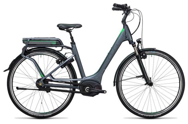 E-Bike Cube Travel Hybrid Pro RT 400 grey´n´flashgreen 2017
