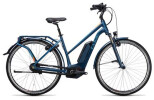 E-Bike Cube Travel Hybrid Pro 500 smoky blue´n´flashorange