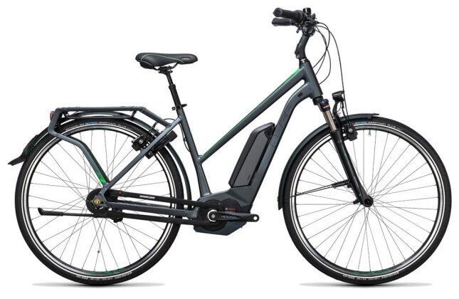 E-Bike Cube Travel Hybrid Pro 500 grey´n´flashgreen 2017
