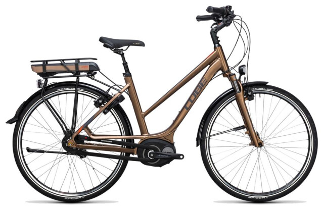 E-Bike Cube Travel Hybrid 500 havanna brown´n´orange 2017
