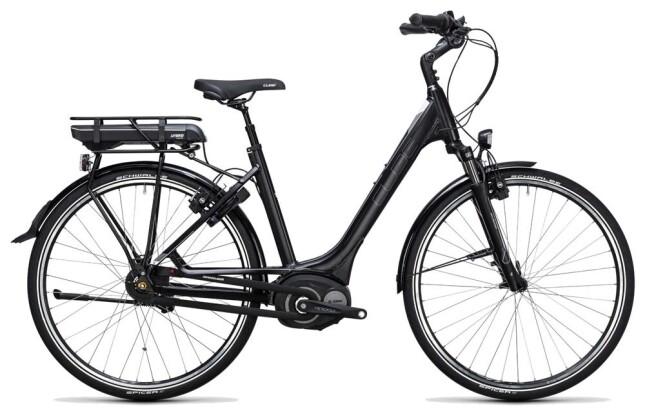 E-Bike Cube Travel Hybrid 400 black´n´white 2017