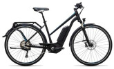 E-Bike Cube Touring Hybrid SL 500 black´n´flashblue
