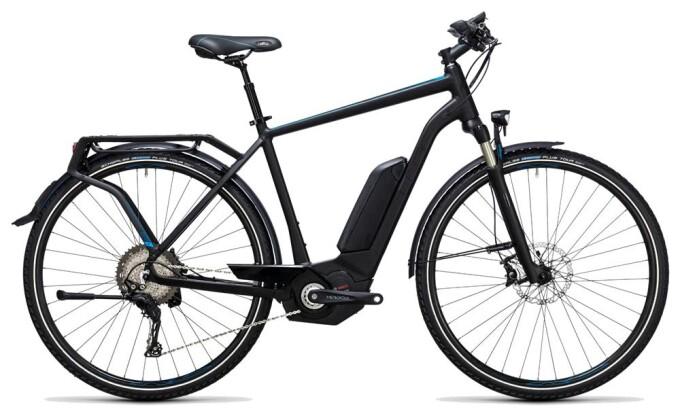 E-Bike Cube Touring Hybrid SL 500 black´n´flashblue 2017