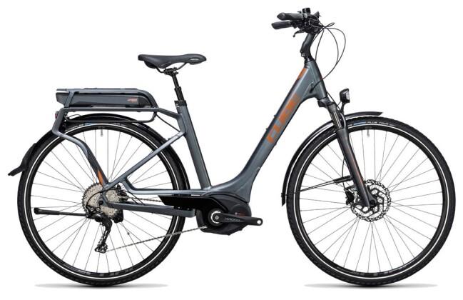 E-Bike Cube Touring Hybrid Exc 500 grey´n´copper 2017
