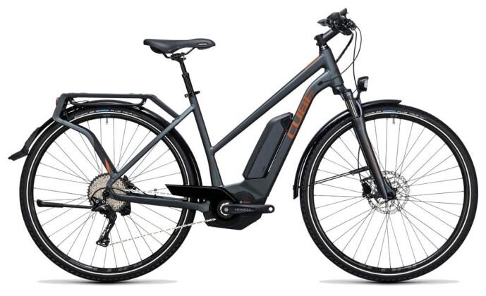 E-Bike Cube Touring Hybrid Exc 400 grey´n´copper 2017