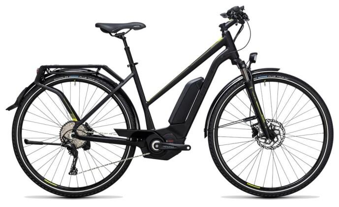 E-Bike Cube Touring Hybrid Exc 400 black´n´lime 2017
