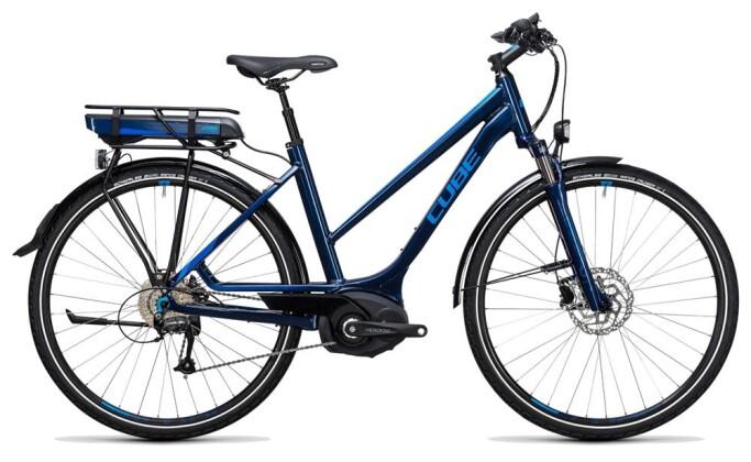 E-Bike Cube Touring Hybrid Pro 500 blue´n´blue 2017