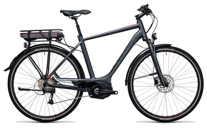 E-Bike Cube Touring Hybrid Pro 500 grey´n´flashred 2017