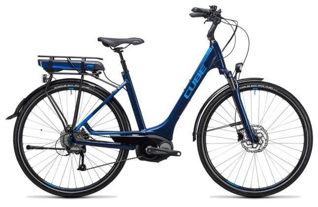 E-Bike Cube Touring Hybrid 400 blue´n´blue 2017