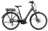 E-Bike Cube Touring Hybrid 400 grey´n´flashred
