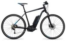 E-Bike Cube Cross Hybrid Pro 500 black´n´blue