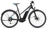 E-Bike Cube Cross Hybrid Pro Allroad 500 black´n´blue