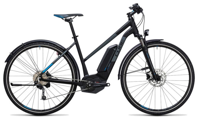 E-Bike Cube Cross Hybrid Pro Allroad 500 black´n´blue 2017
