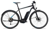 E-Bike Cube Cross Hybrid Pro Allroad 500 black´n´blue