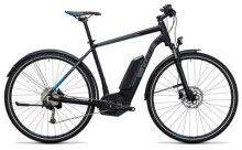 E-Bike Cube Cross Hybrid Pro Allroad 400 black´n´blue
