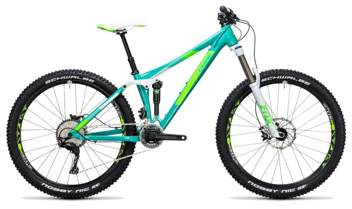 Mountainbike Cube Sting WLS 140 Race 27.5 2x mint´n´green 2017
