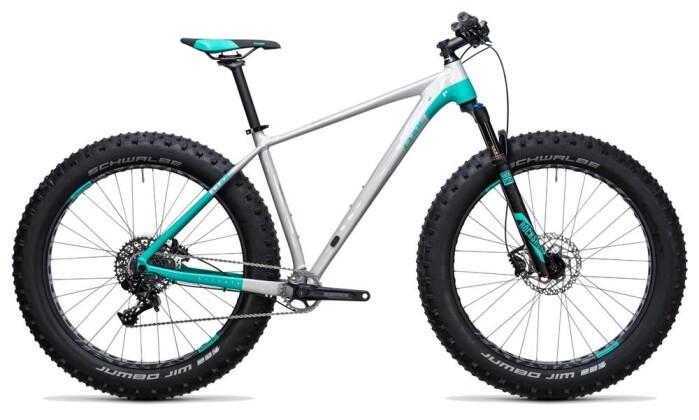Mountainbike Cube Nutrail Pro raw´n´mint 2017