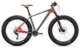 Mountainbike Cube Nutrail grey´n´flashred