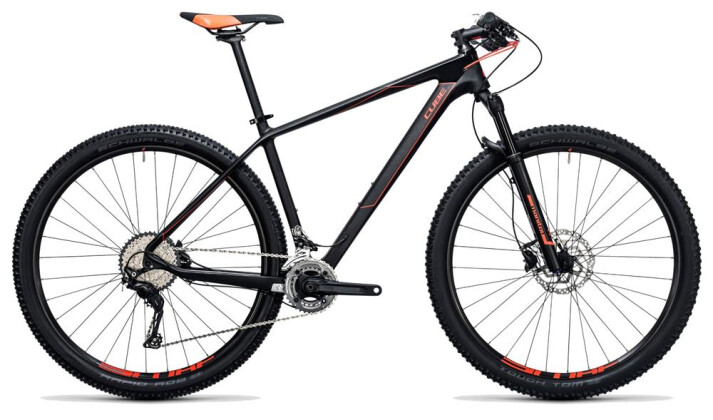 Mountainbike Cube Reaction GTC 2x carbon´n´flashred 2017