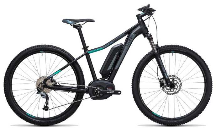 E-Bike Cube Access WLS Hybrid ONE 500 black´n´blue 2017