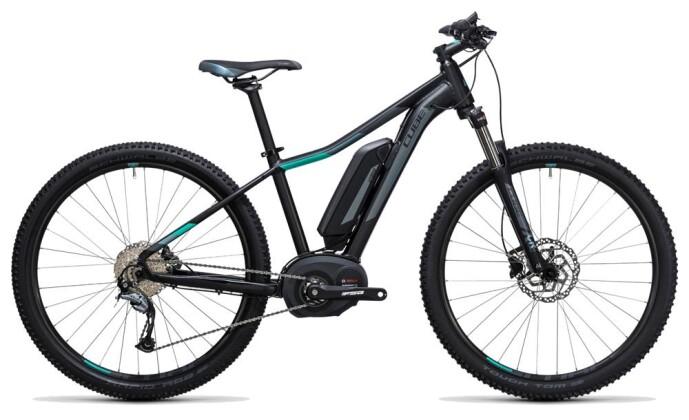 E-Bike Cube Access WLS Hybrid ONE 400 black´n´blue 2017