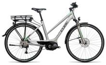 E-Bike Cube Touring Hybrid ONE 400 silver´n´flashgreen
