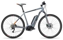 E-Bike Cube Cross Hybrid ONE 500 grey´n´orange
