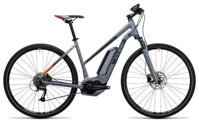 E-Bike Cube Cross Hybrid ONE 400 grey´n´orange 2017