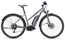 E-Bike Cube Cross Hybrid ONE Allroad 400 grey´n´orange