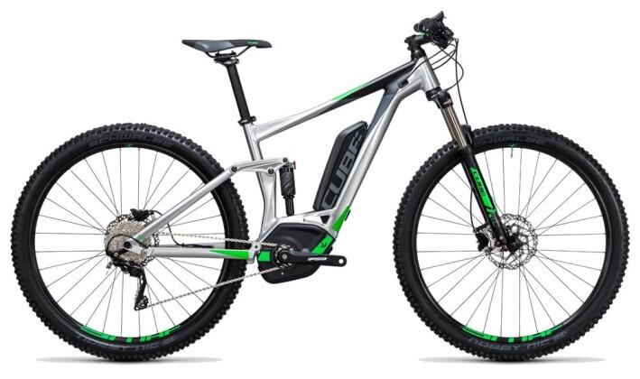 E-Bike Cube Stereo Hybrid 120 ONE 400 metal´n´green 2017
