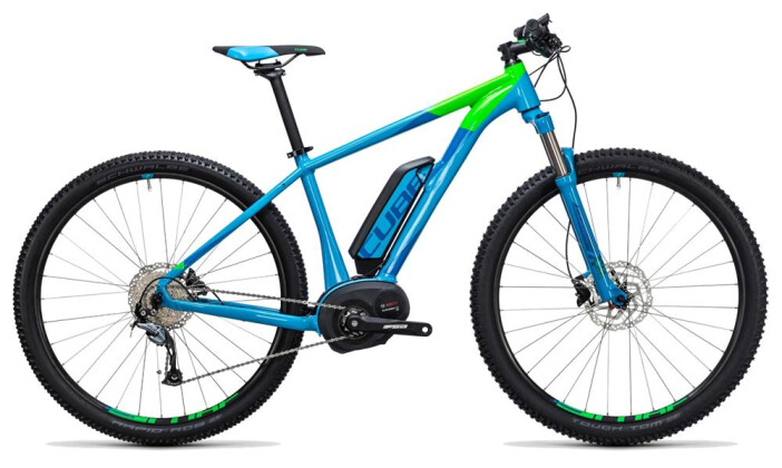 E-Bike Cube Reaction Hybrid ONE 500 blue´n´flashgreen 2017