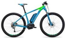E-Bike Cube Reaction Hybrid ONE 400 blue´n´flashgreen