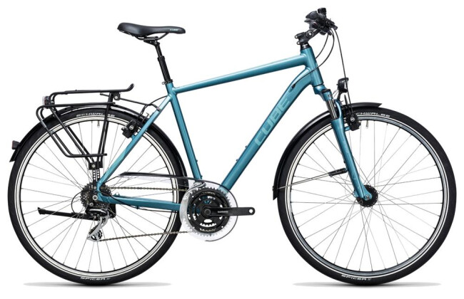 Trekkingbike Cube Touring ONE bluegreen´n´blue 2017