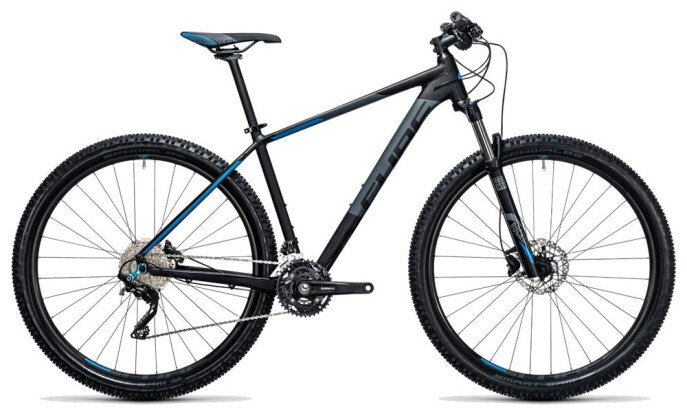 Mountainbike Cube Attention black´n´blue 2017