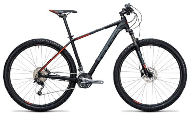 Mountainbike Cube Aim SL black´n´flashred