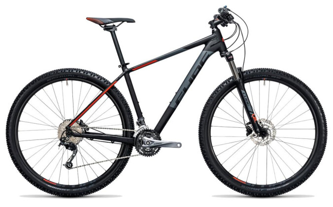 Mountainbike Cube Aim SL black´n´flashred 2017