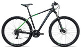 Mountainbike Cube Aim Pro black´n´green