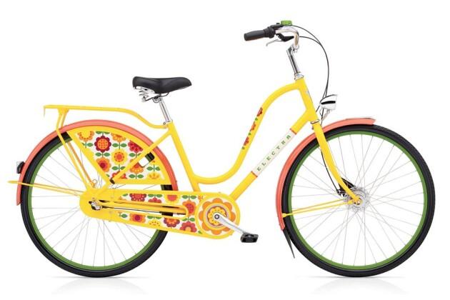 Hollandrad Electra Bicycle Amsterdam Forgetmnot 3i Ladies 2017