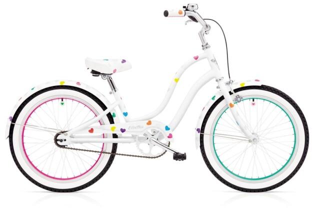 Kinder / Jugend Electra Bicycle HEARTCHYA 1 20IN GIRLS' 20 2018