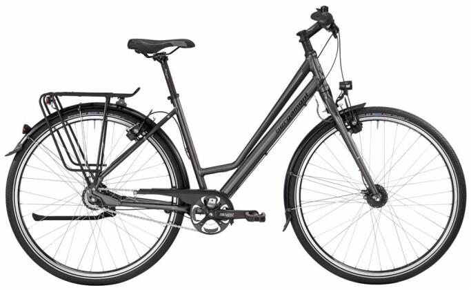 Citybike Bergamont BGM Bike Vitess N8 Amsterdam 2017