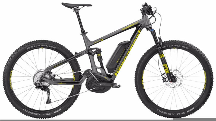 E-Bike Bergamont BGM Bike E-Contrail 8.0 Plus 2017