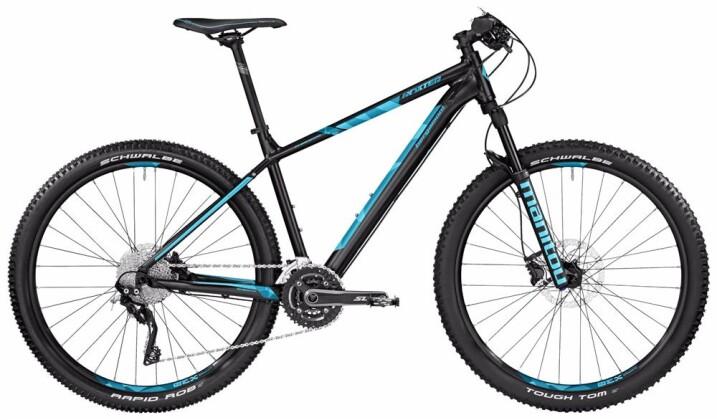Mountainbike Bergamont BGM Bike Roxter Edition black/coral blue 2017